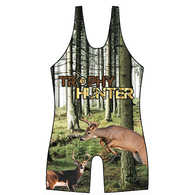 Trophy Hunter Whitetail Wrestling Singlet