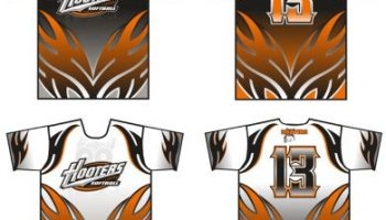 Hooters softball jerseys