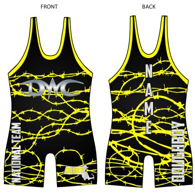 doughboysinglet1- yellow