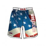 USA Wrestling Fight Short