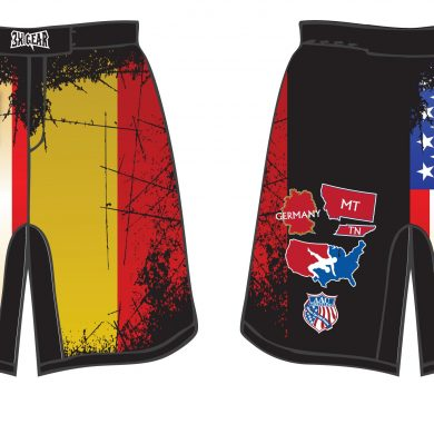 MT Germany W-Tenn Fight Short