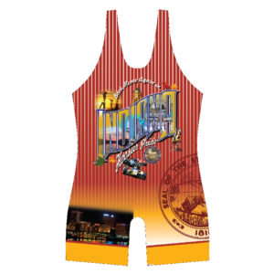 Indiana Hoosier Pride Red Singlet
