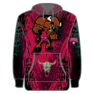 Ohio Tournament of Champions Bison 2018 Sublimated Hoodie