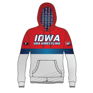 Iowa USA Wrestling Sublimated Hoodie