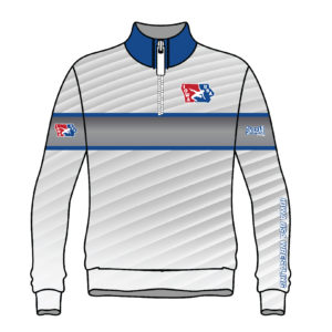Iowa USA Wrestling Sublimated 1/4 Zip Pullover