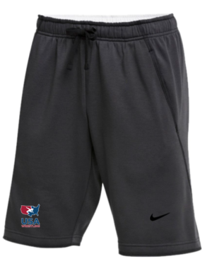 NIKE MEN'S USAWR FLUX SHORTS - GREY