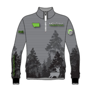 Montana Wrestling 406 Sublimated 1/4 Zip Pullover