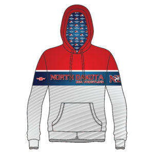North Dakota USA Wrestling Sublimated Hoodie