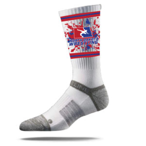 NORTH DAKOTA CREW SOCK - WHITE