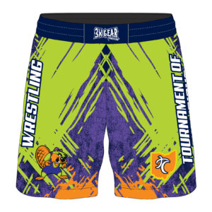 Ohio Tournament of Champions 2019 Beaver Sublimated Fight Shorts