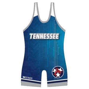 Tennessee Blue Tonal Camo Singlet