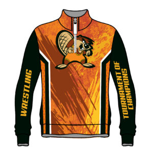 Ohio Tournament of Champions 2019 Beaver Sublimated 1/4 Zip Pullover