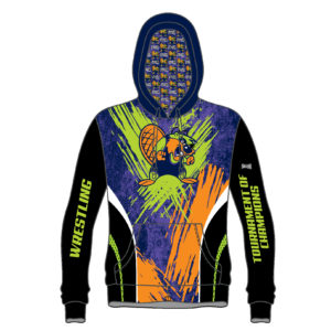 Ohio Tournament of Champions 2019 Beaver Sublimated Hoodie