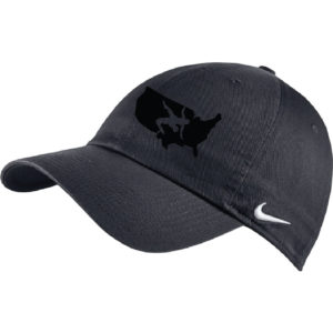 NIKE USAWR STOCK HERITAGE 86 CAP - Charcoal