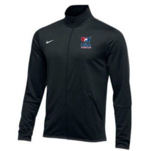 NIKE MEN'S USAWR EPIC JACKET - BLACK/RED/WHITE/NAVY