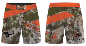 Big Buck Sublimated Fight Shorts
