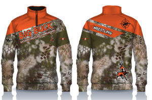 Big Buck Sublimated 1/4 Zip
