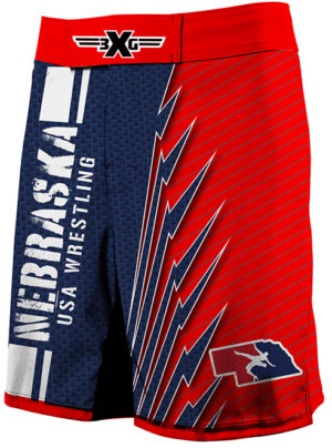 2020 Nebraska USAW Fight Shorts